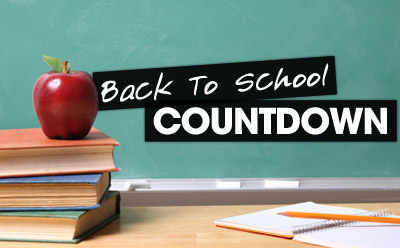 Countdown back to school clipart picture library library School countdown clipart - ClipartFest picture library library