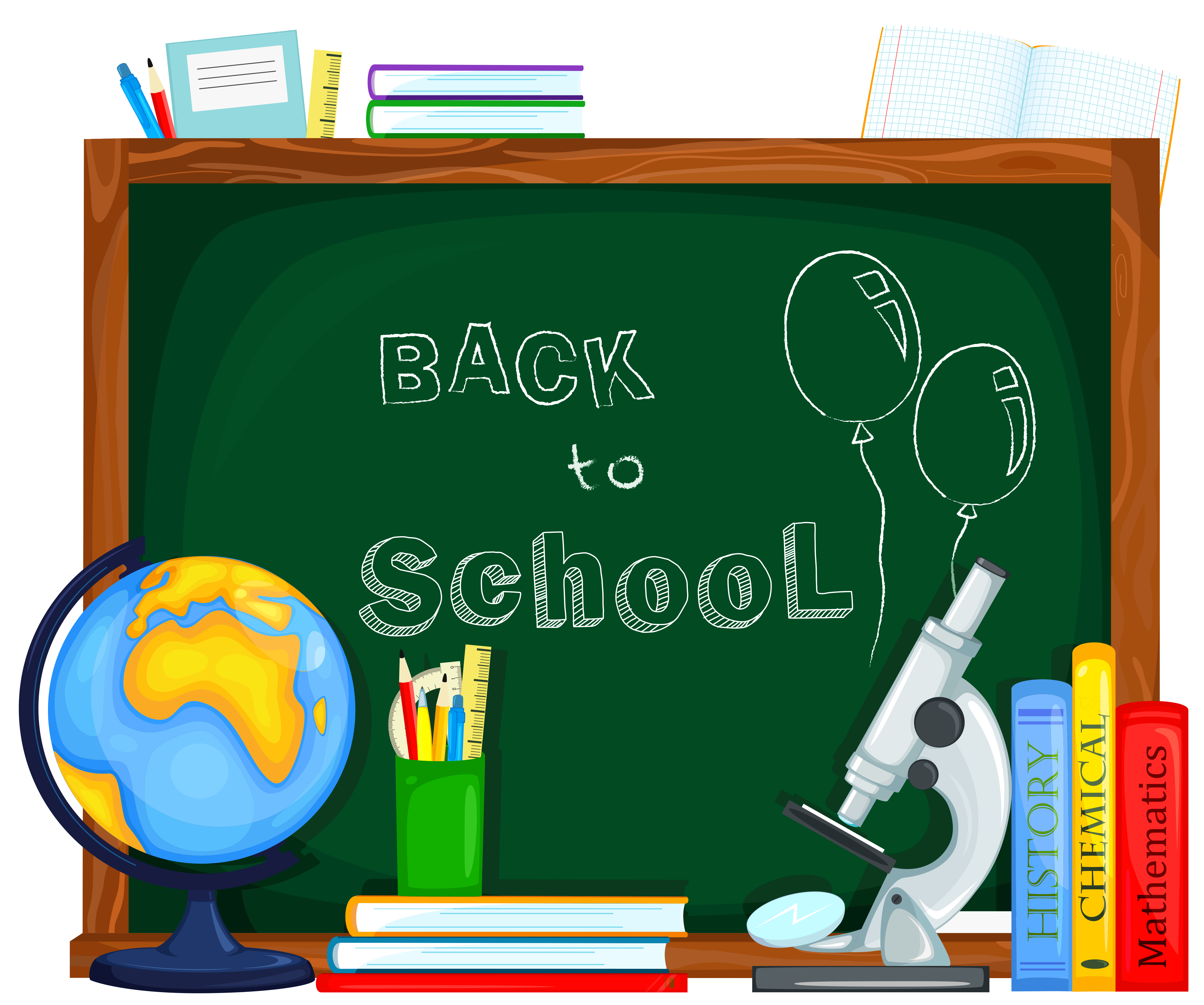 School clipart com image black and white stock Images of back to school clipart - ClipartFest image black and white stock