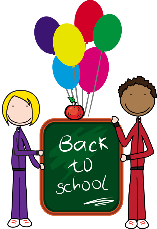 Half day of school clipart black and white stock Countdown back to school clipart - ClipartFox black and white stock