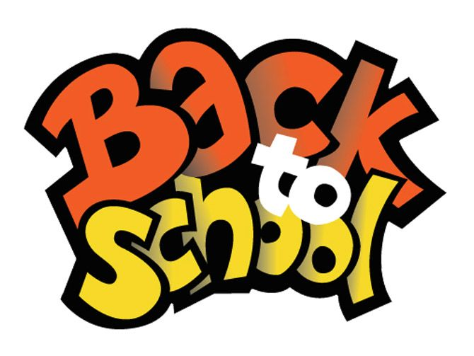 Countdown back to school clipart image black and white download Countdown back to school clipart - ClipartFest image black and white download
