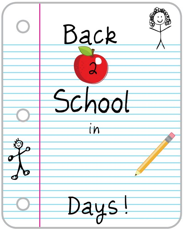 Countdown back to school clipart clip library Images Back To School | Free Download Clip Art | Free Clip Art ... clip library