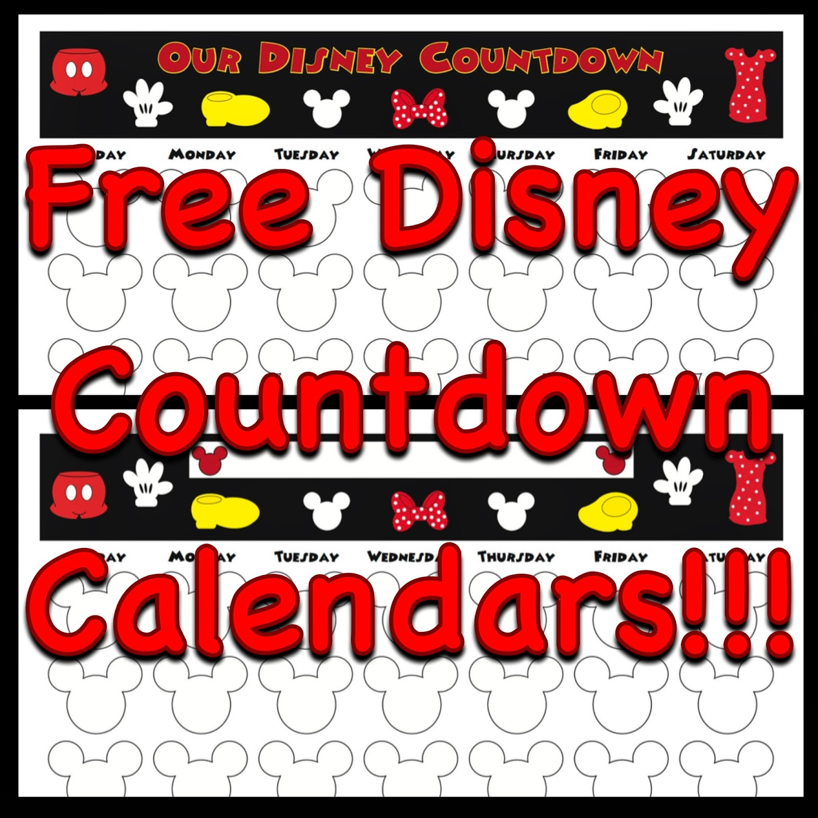 Countdown calendar clipart clip art black and white library 78+ images about Countdown calendars on Pinterest   Disney ... clip art black and white library