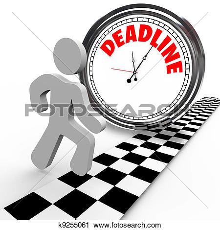 Countdown calendar clipart image transparent download Clipart of Racing Against Deadline Clock Time Countdown k9255061 ... image transparent download
