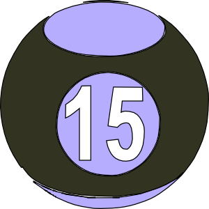 Countdown clipart with number 15 clip royalty free stock Clipart number 15 - ClipartFest clip royalty free stock