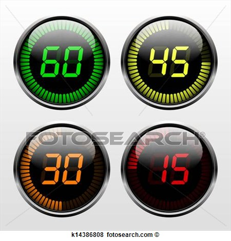 Countdown clock clipart picture library library Countdown Timer Clipart - Clipart Kid picture library library