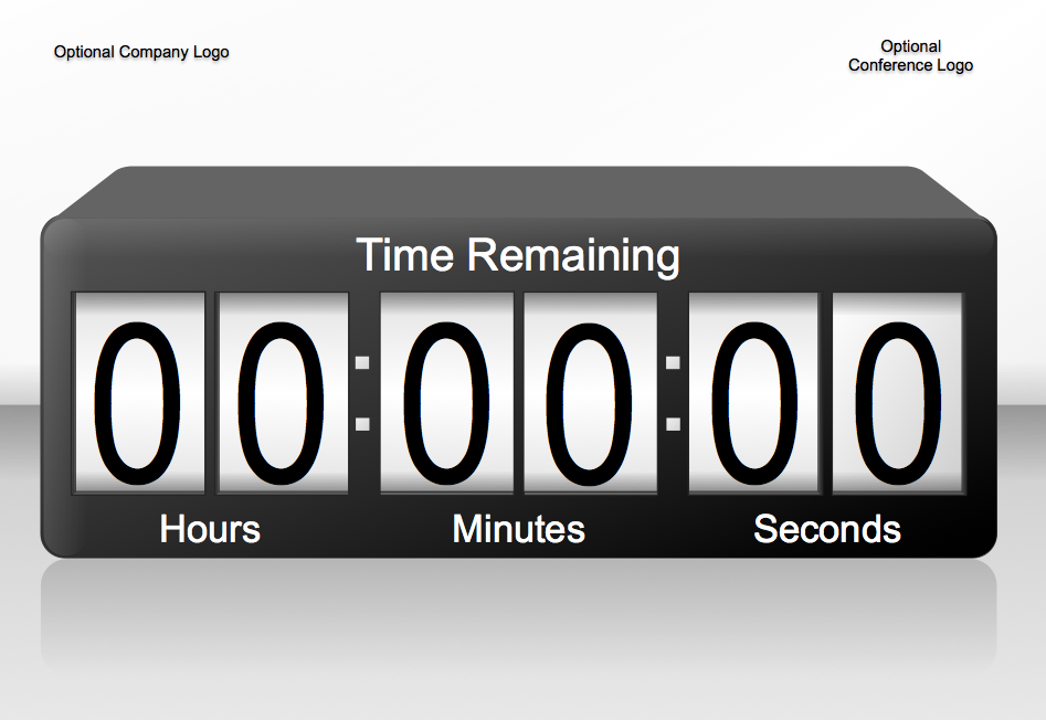 Timer powerpoint clipartfest min. Countdown clock clipart