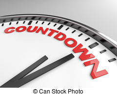 Down illustrations and clip. Countdown clock clipart
