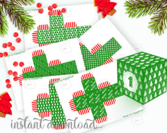 Countdown letter 1 clipart png royalty free stock Items similar to Countdown to Christmas, Printable Advent Calendar ... png royalty free stock
