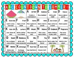 Countdown letter 1 clipart clipart black and white stock Alphabet Countdown Ideas | Blog Posts to remember | Pinterest ... clipart black and white stock