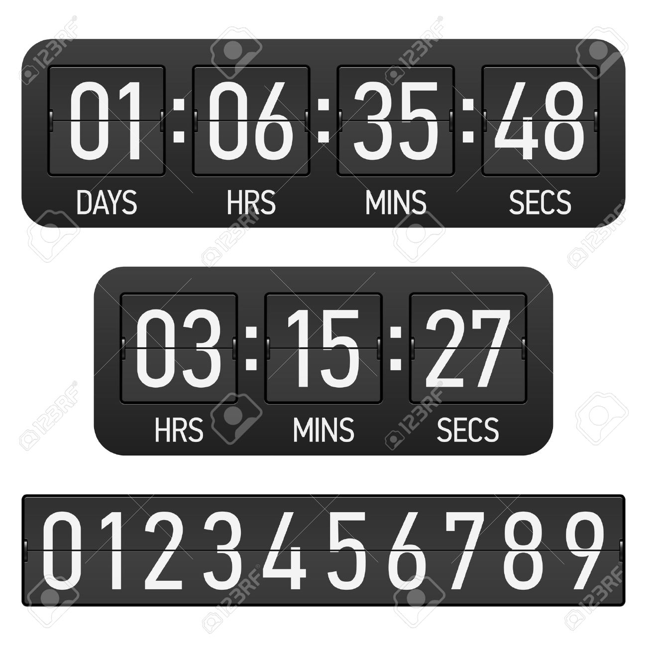 Countdown timer clipart freeuse Countdown Timer Royalty Free Cliparts, Vectors, And Stock ... freeuse