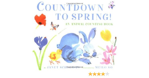 Countdown to spring clipart vector freeuse Amazon.com: Countdown to Spring! An Animal Counting Book ... vector freeuse