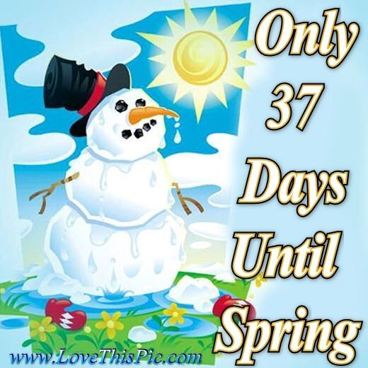 Countdown to spring clipart clip black and white 37 Days Until Spring quotes spring quote winter spring quotes ... clip black and white