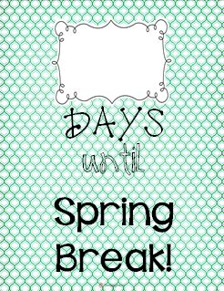 Countdown to spring clipart clip art transparent download TheHappyTeacher: Spring Break Countdown! #nevertoosoon :) | Clip ... clip art transparent download