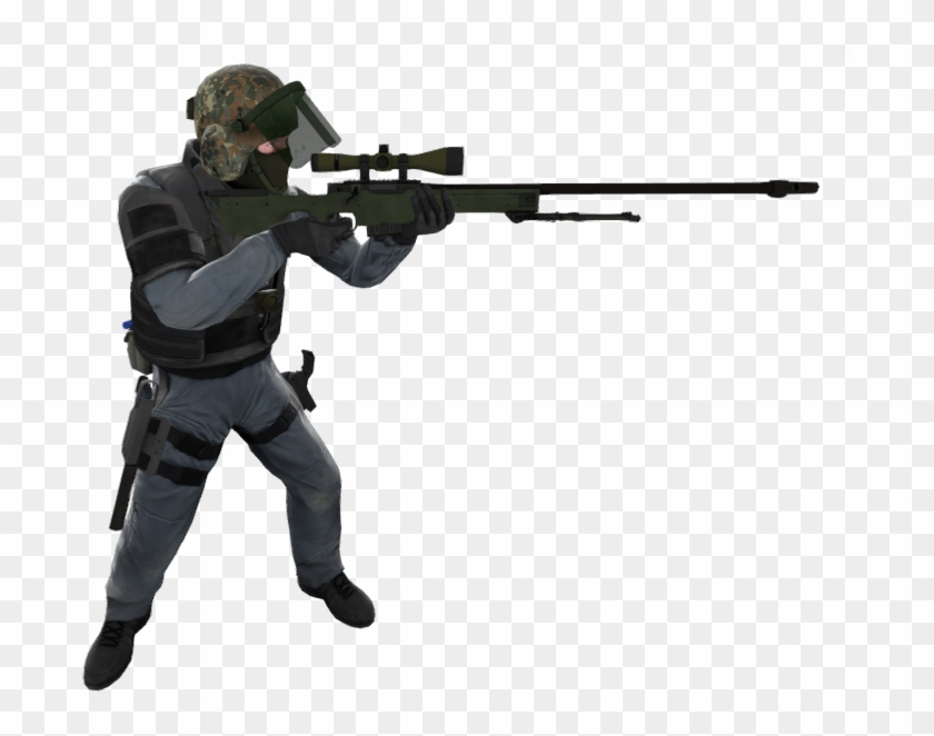 Cs Go Awp Png - Counter Terrorist Cs Go Png, Transparent Png ... vector black and white download