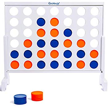 Counters clipart connect 4 clip art library stock Amazon.com: ECR4Kids Jumbo 4-to-Score Giant Game Set, Backyard Games ... clip art library stock