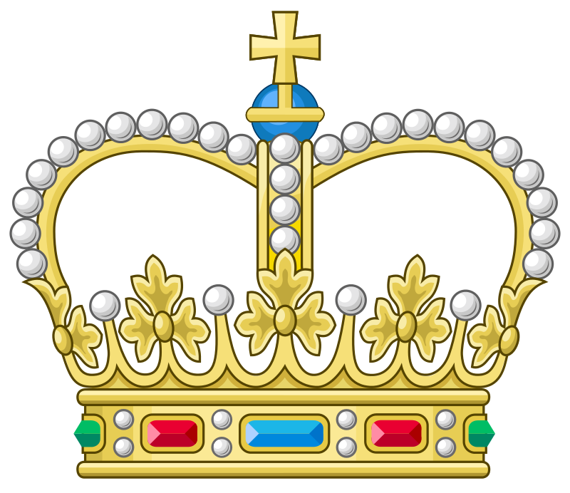 Duchess crown clipart svg transparent download Heraldic crown of a landgrave | iluminaciones | Pinterest | Landgrave svg transparent download