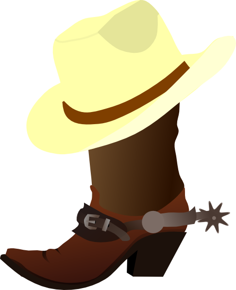 Free hoedown clipart.  country western clip