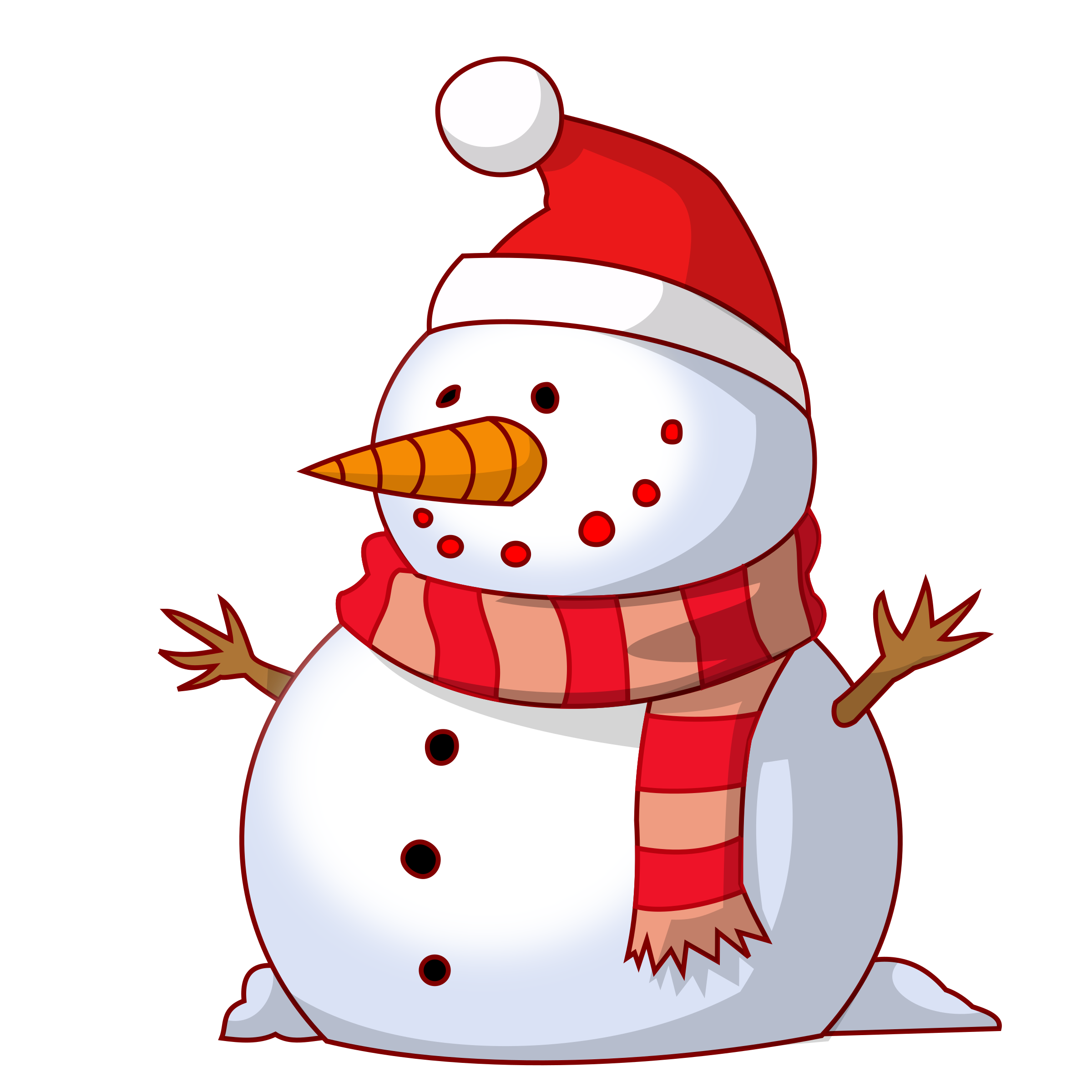 Snowman book clipart image free download Christmas Snowman Clipart at GetDrawings.com | Free for personal use ... image free download