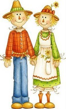 Country couple clipart freeuse library All things scarecrow on scarecrows fall scarecrows cliparts | Fall ... freeuse library