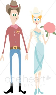 Country couple clipart clip art transparent library Cartoon Country Couple Clipart | Western Wedding Clipart clip art transparent library