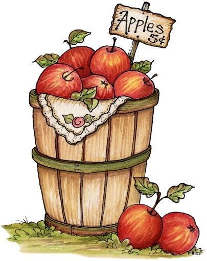 Country fall clipart