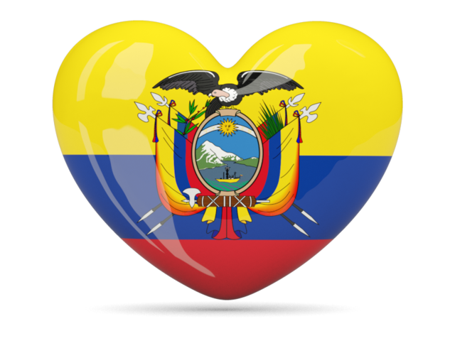 Country heart clipart banner Ecuador flag heart - Symbol and Emblem of Country - DownloadClipart.org banner