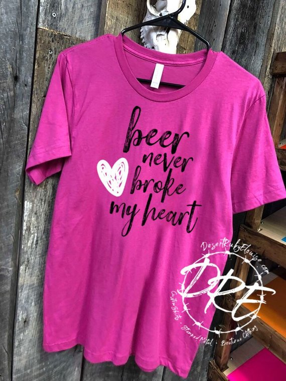 Country music and beer thats why im here clipart vector transparent Beer Never Broke My Heart Shirt / Luke Combs Lyrics Shirt ... vector transparent