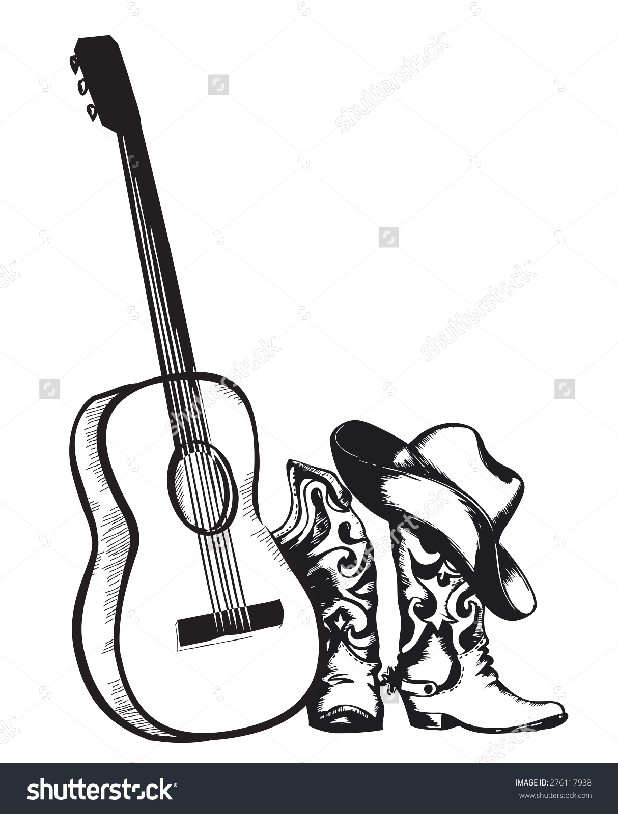 Country music clipart clipart black and white library 80+ Country Music Clipart   ClipartLook clipart black and white library