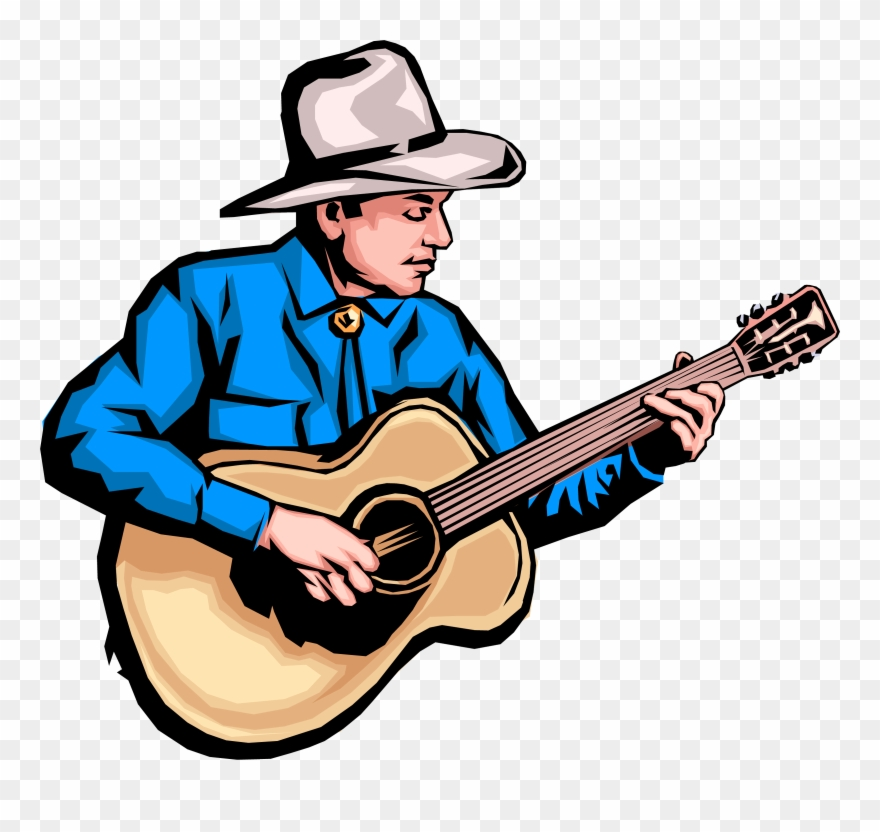 Country music clipart banner royalty free library New Images Download Guitar Clipart Transparent Background - Country ... banner royalty free library