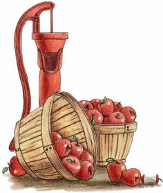 Country style clipart clipart royalty free Basket fruits Vegetables? Country Style - Clip Art Library clipart royalty free
