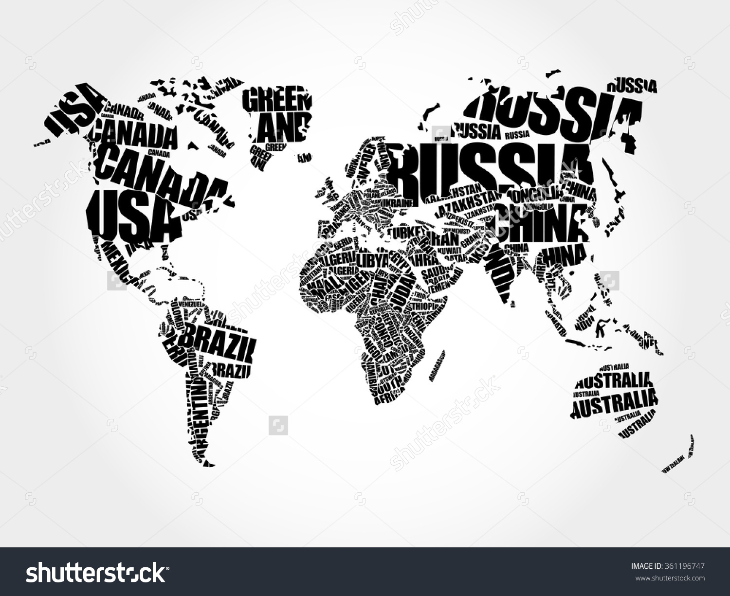 Country world map clipart jpg library download Country map clipart black and white - ClipartFest jpg library download