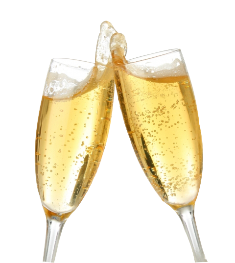 Coupe clipart gratuit. De champagne clipartfest petit