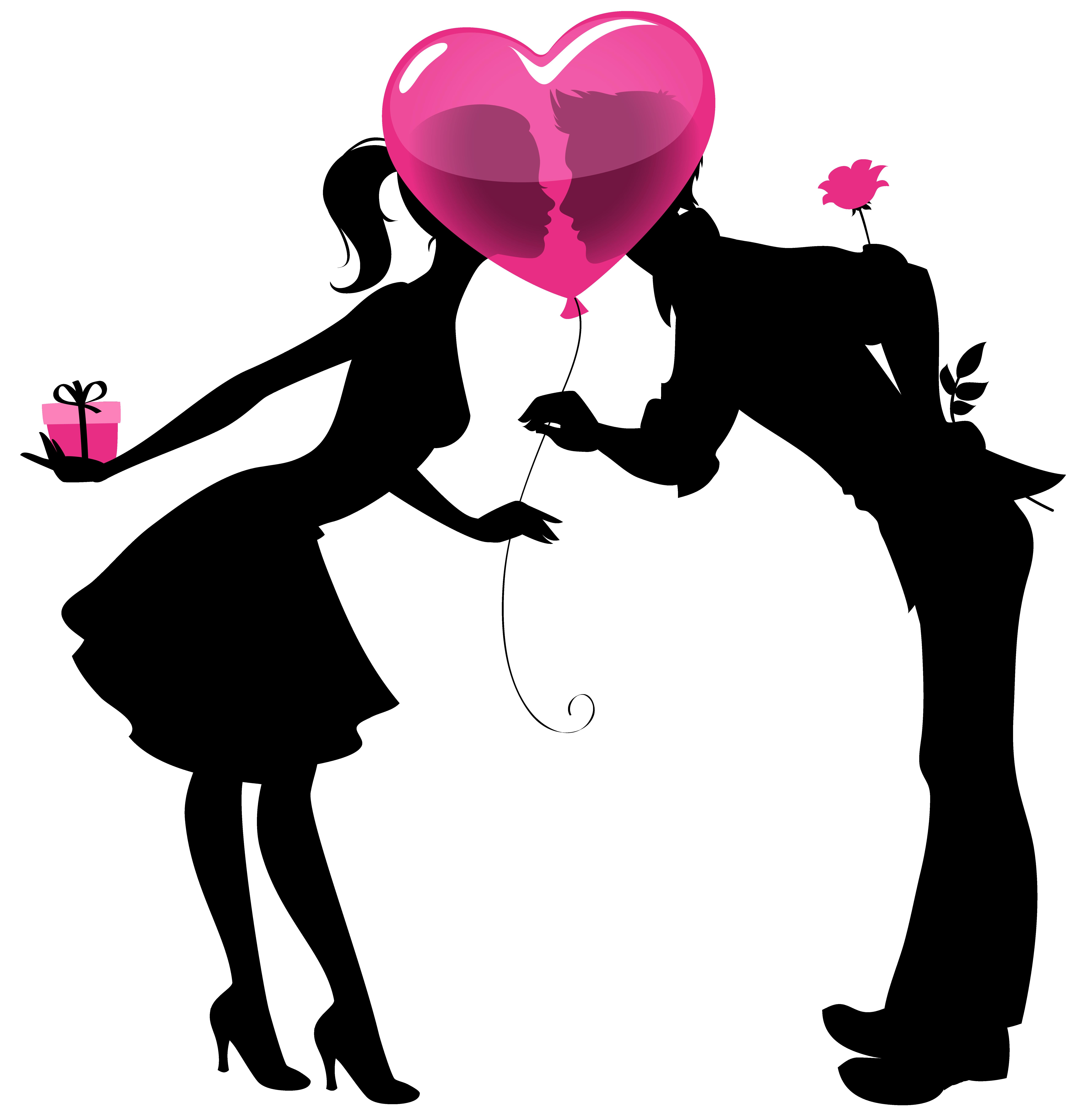 Valentine silhouette clipart clip free stock Free Couple Cliparts, Download Free Clip Art, Free Clip Art ... clip free stock