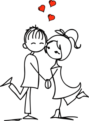 Couple in love clipart black and white clip art free download Couple in love clip art free dayasriold top 2 - Clipartix clip art free download