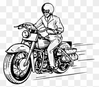 Couple riding motorcycle black and white clipart vector royalty free stock Free PNG Motorcycle Clipart Clip Art Download - PinClipart vector royalty free stock