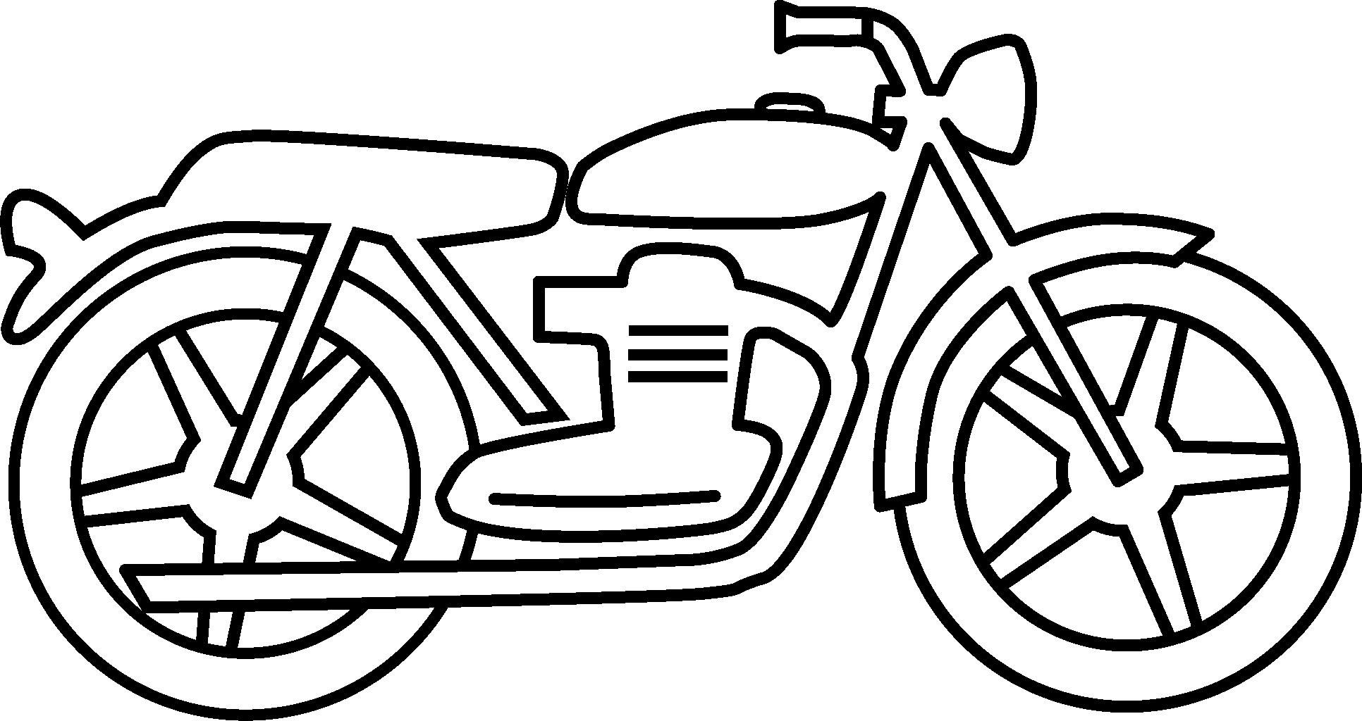 Couple riding motorcycle black and white clipart picture royalty free stock Motorcycle Drawings Clipart - Clipart Kid | DESIGN ... picture royalty free stock