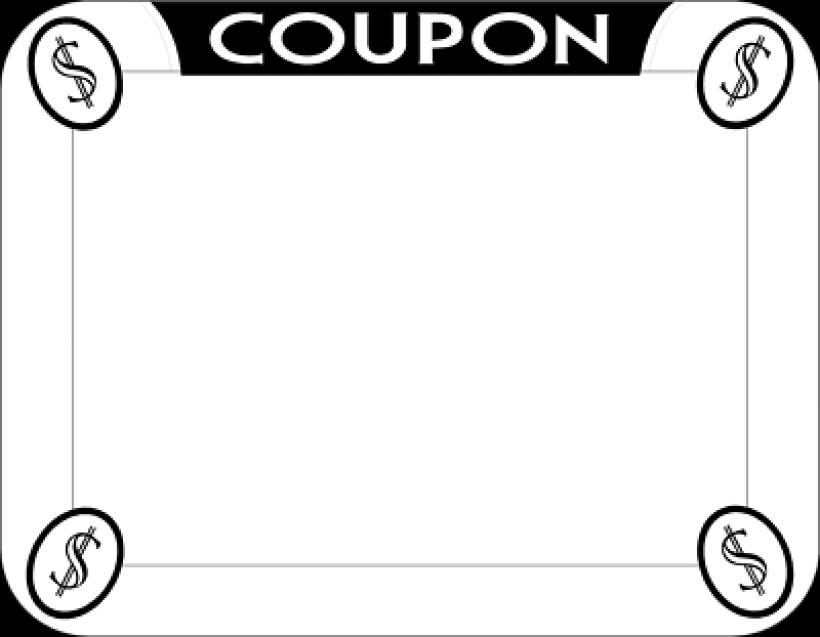 Coupom clipart jpg black and white Coupon Clipart | Free download best Coupon Clipart on ClipArtMag.com jpg black and white