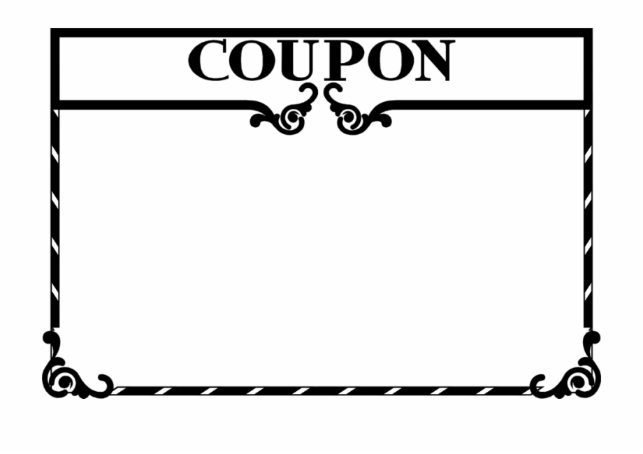 Coupon border clipart vector free library Coupon Clip Art - Coupon Clipart Free PNG Images & Clipart Download ... vector free library