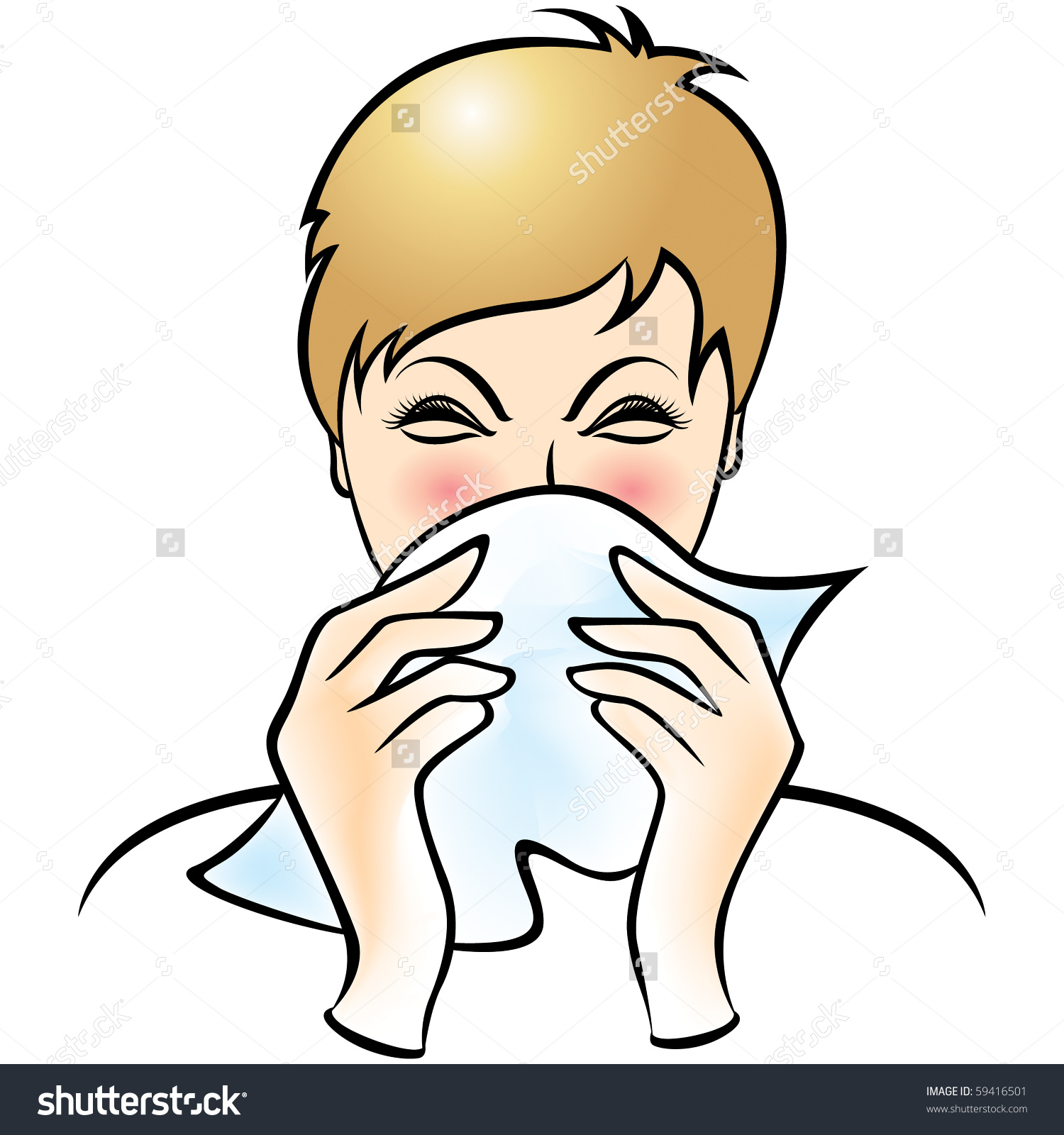 Cover cough clipart jpg transparent stock Cover Your Cough Stock Vector 59416501 - Shutterstock jpg transparent stock