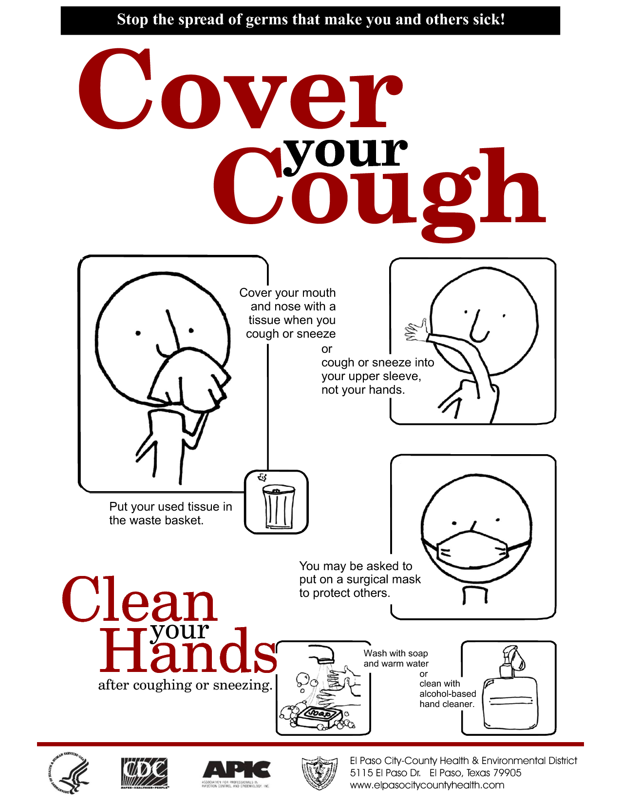 Cover cough clipart banner transparent Cover Your Cough Clipart - Clipart Kid banner transparent
