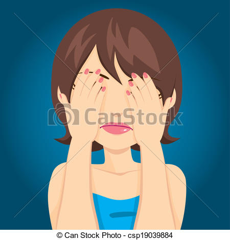 Cover eyes clipart jpg free library Covering Illustrations and Clipart. 528,911 Covering royalty free ... jpg free library