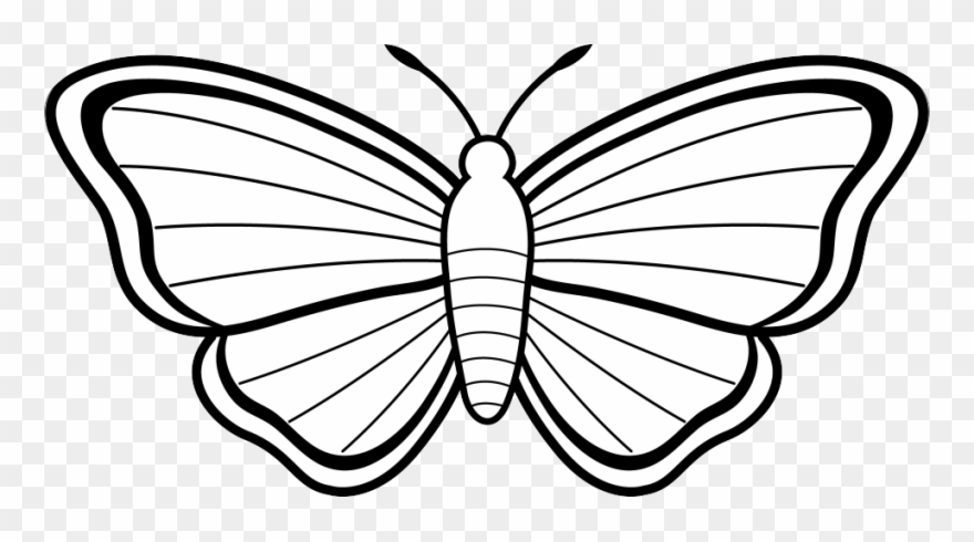 Cover sheets clipart black and white butterfly banner library Black And White Butterfly Clip Art - Butterfly Images For ... banner library