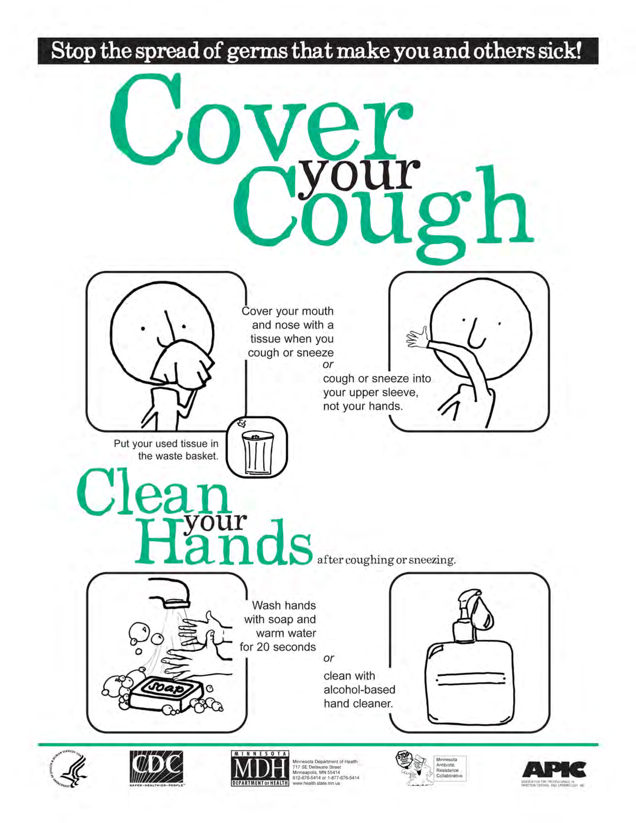 Cover your cough clipart clip art freeuse download Cover Your Cough Poster English By Benbenzhou #22x0oD - Clipart Kid clip art freeuse download