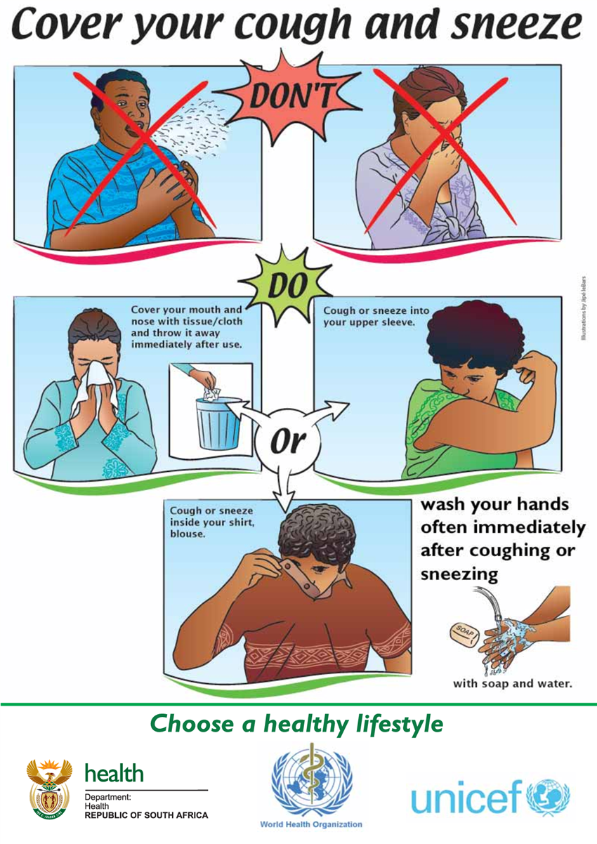 Cover your mouth clipart freeuse download CABLES, BRITT (Nurse) / Handwashing Information and Covering Your ... freeuse download