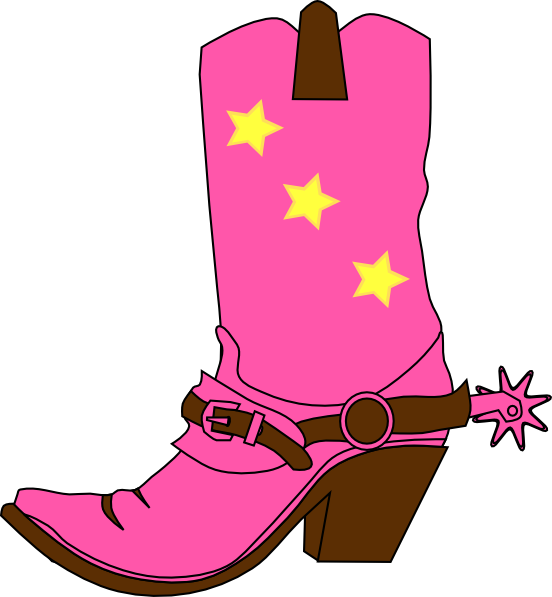 Cow boy boot for girl and boy clipart vector transparent library Cowboy boots clipart free download clip art on 5 - ClipartBarn vector transparent library