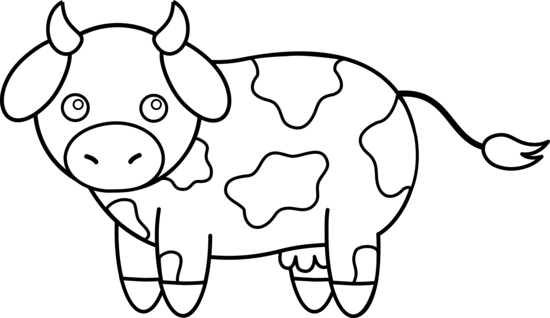 Free clipart farm animals black and white cow clip art free library Cow Clipart Black And White | Clipart Panda - Free Clipart ... clip art free library