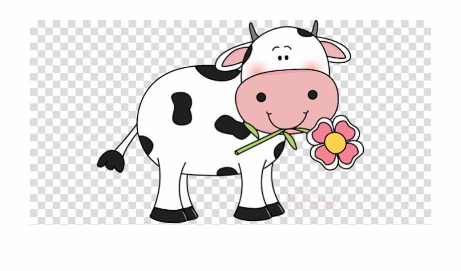 Cow clipart transparent clip transparent Cute Cow Clipart Cattle Clip Art - Car Cartoon Transparent ... clip transparent