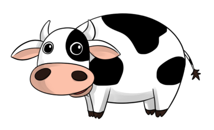 Cow clipart transparent jpg royalty free stock Transparent Cow | Free download best Transparent Cow on ... jpg royalty free stock