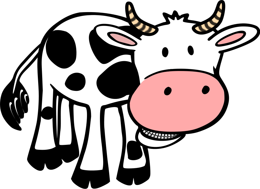 Cow clipart transparent vector royalty free stock Cow clipart with transparent background free - ClipartBarn vector royalty free stock