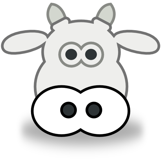Cow head clipart black and white jpg 101+ Cow Head Clip Art | ClipartLook jpg